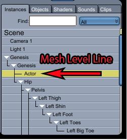 Mesh Level Line