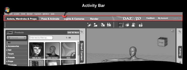 Activity Bar