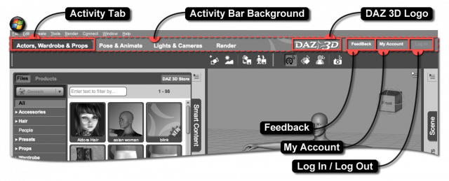 Activity Bar Child Elements