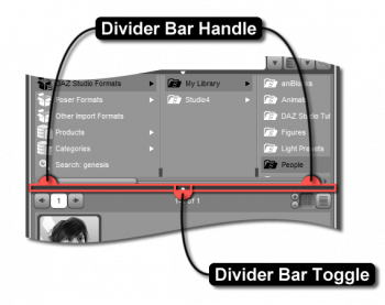 Container View Divider
