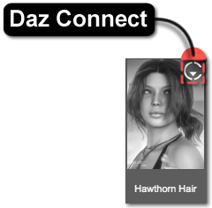 Daz Connect Indicator