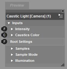 Root Caustic Light Brick