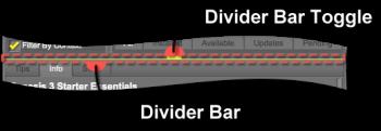 Divider Bar