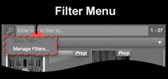 Filter Menu