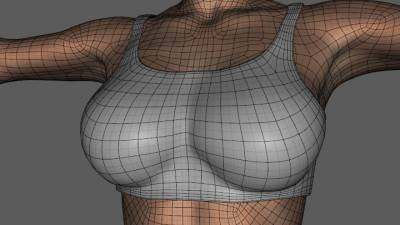 Reduced Density Mesh